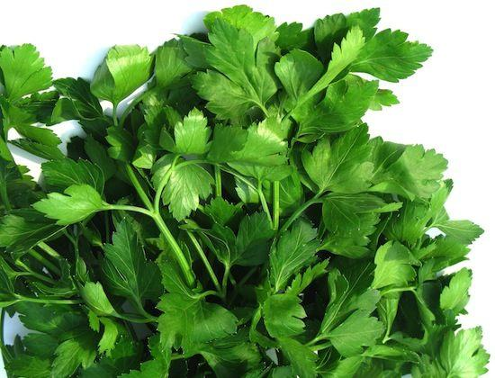 5. Parsley Parsley is a good remedy for gas, especially if you add it to flavor foods that might otherwise contribute to intestinal gas. It helps facilitate digestion and lessen the bloating effect they might otherwise have.