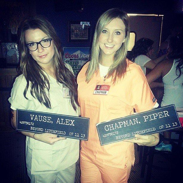 Alex and Piper From Orange Is the New Black