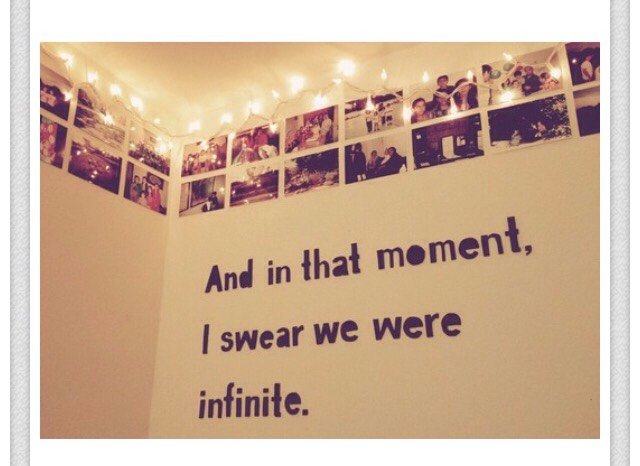 In the end though, if you want a tumblr room, make sure you have Christmas lights, quotes, pictures, and a canopy over your bed. 👍