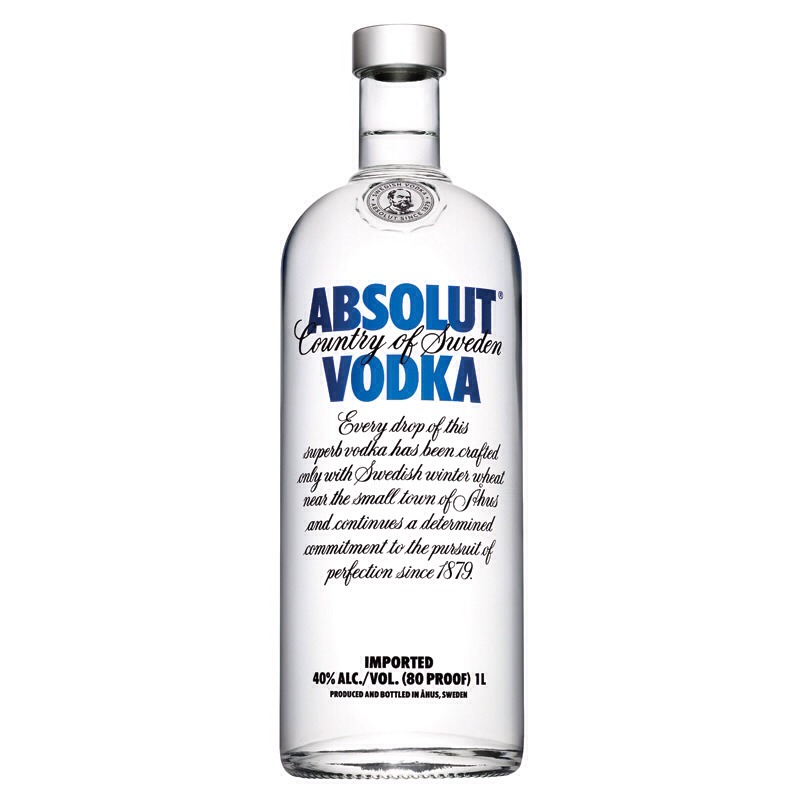 Fill the rest of the bottle with vodka and shake well enough to mix. Enjoy :)
