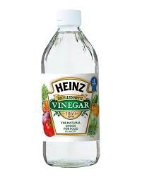 vinegar is your friend