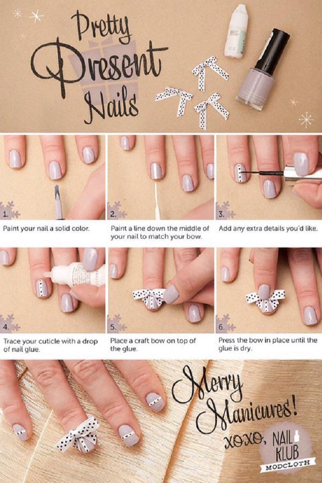 Pretty Present Nails