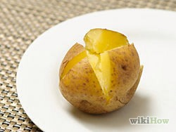 6) when potatoes are done, remove from oven unwrap and let them cool