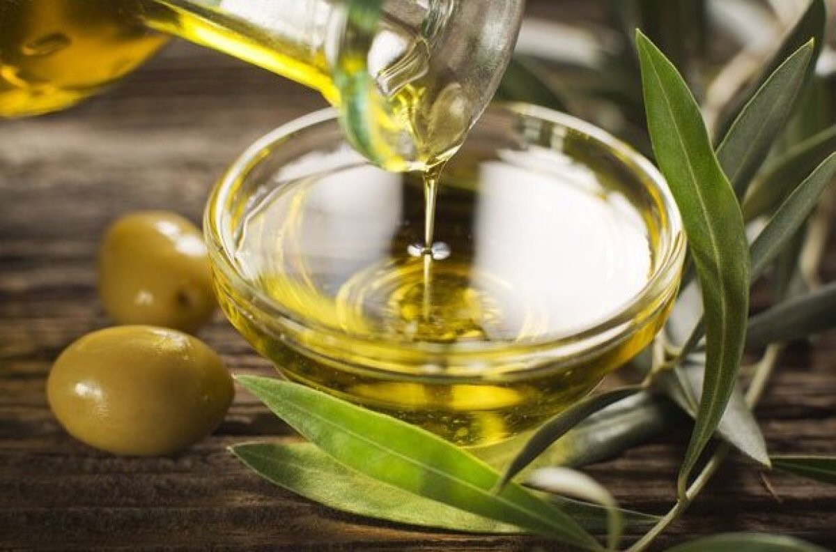 First, put 3 tablespoons of any oil (I use olive oil) into a bowl