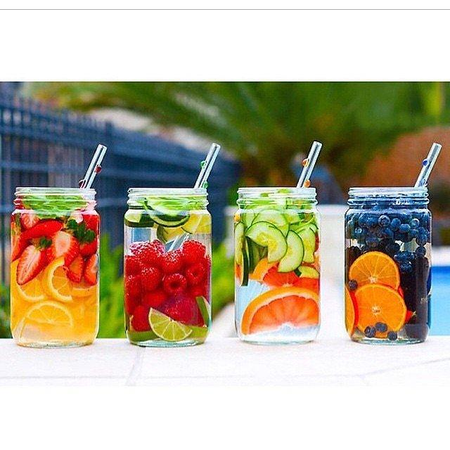 The Possibilities Are Endless There are so many ways to customize your water, and any combination of fruits will be tasty.