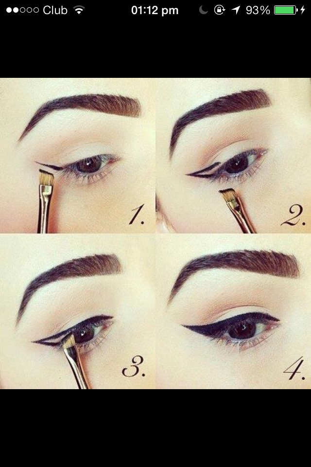 Short and easy way to do gel eyeliner