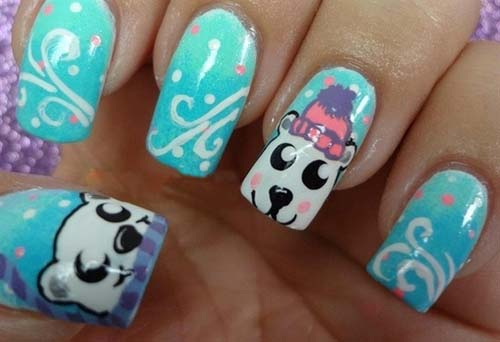 Cute Winter Nail Designs
