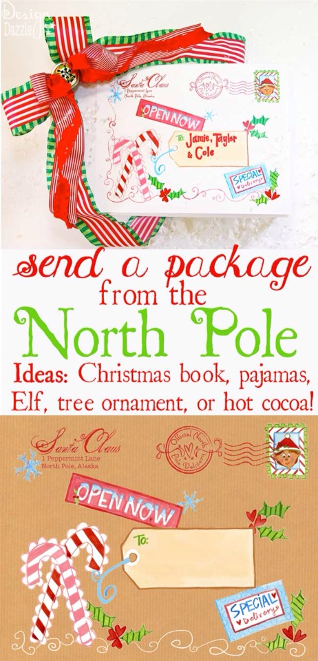 http://www.designdazzle.com/2013/11/north-pole-special-delivery-labels/