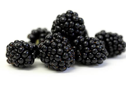 About 4 black berries. If you don't like them strawberries or raspberries are a great substitute.