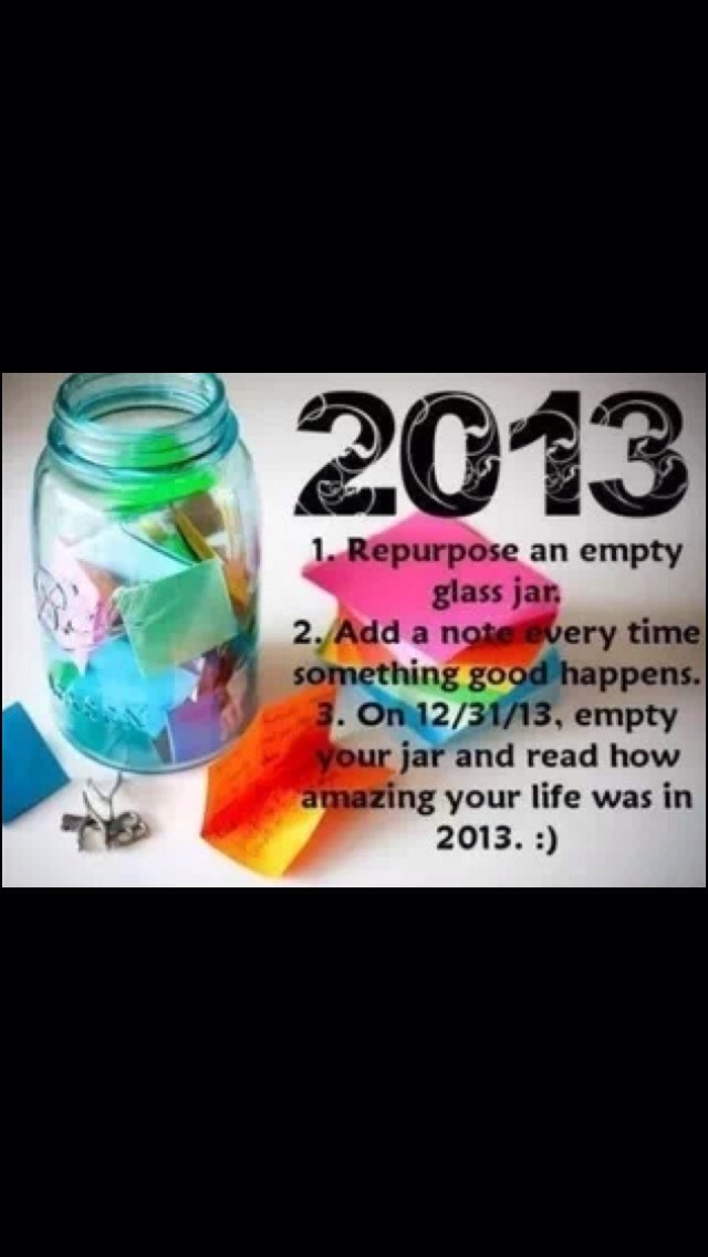 This works for 2014 too!! Get a head start on next year and start one now!
