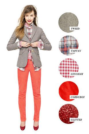 4. And how to mix patterns and textures.
