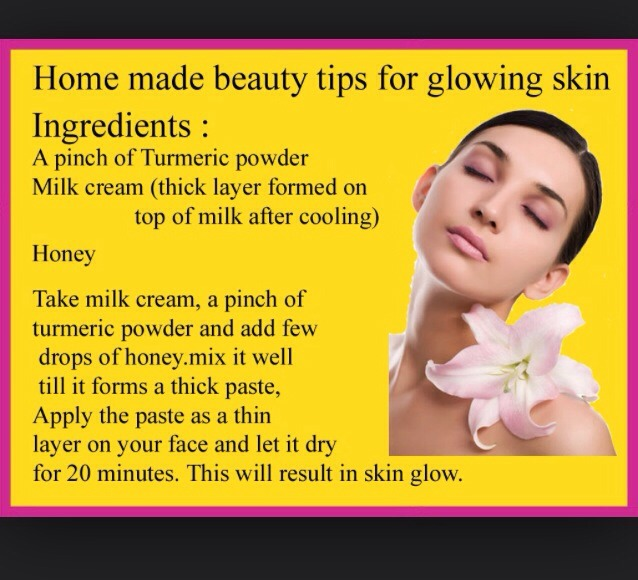 Homemade Glowing Skin by Farhana Patel