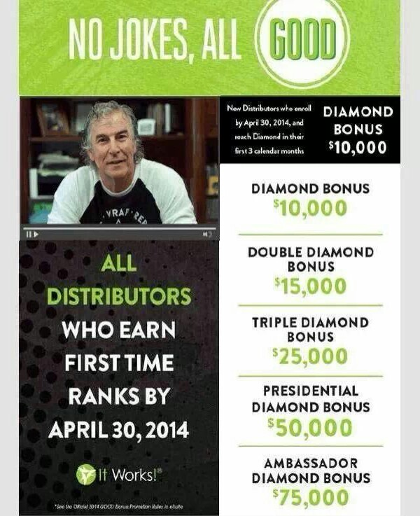 join the IT Works team !  Https:// marysmagicwraps.myitworks.com