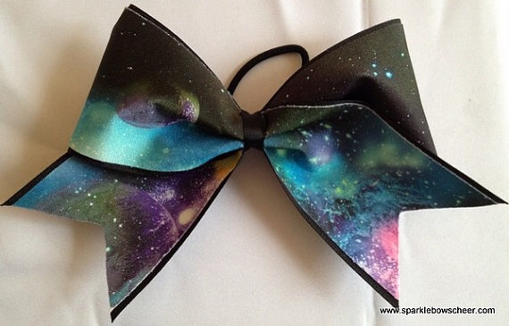 One of my favorite things!! Cheer bows 🎀