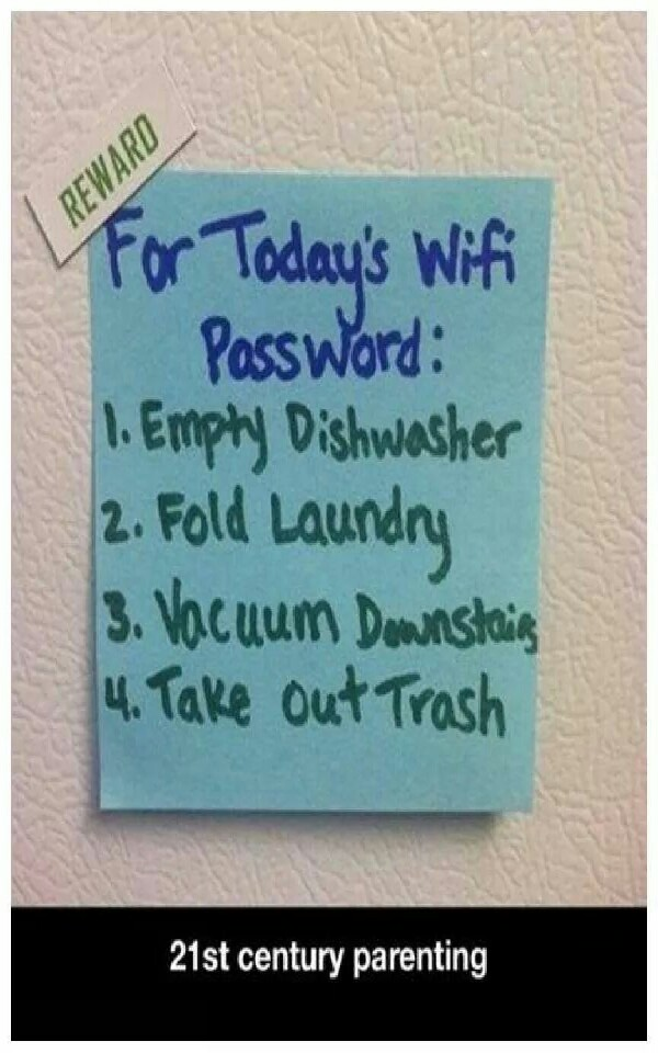 You could even change up the chore list for each child. The possibilities are endless.