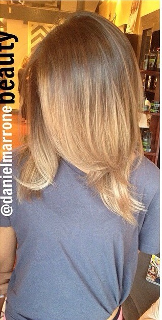 If u see this it looks soo beautiful with 2 shade of colour dark and light brown  Looks soo bum😍❤️