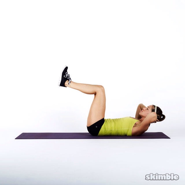 50 crunches
