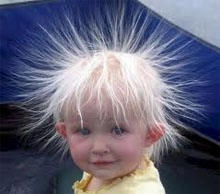 Temporary flyaway hair tamer.