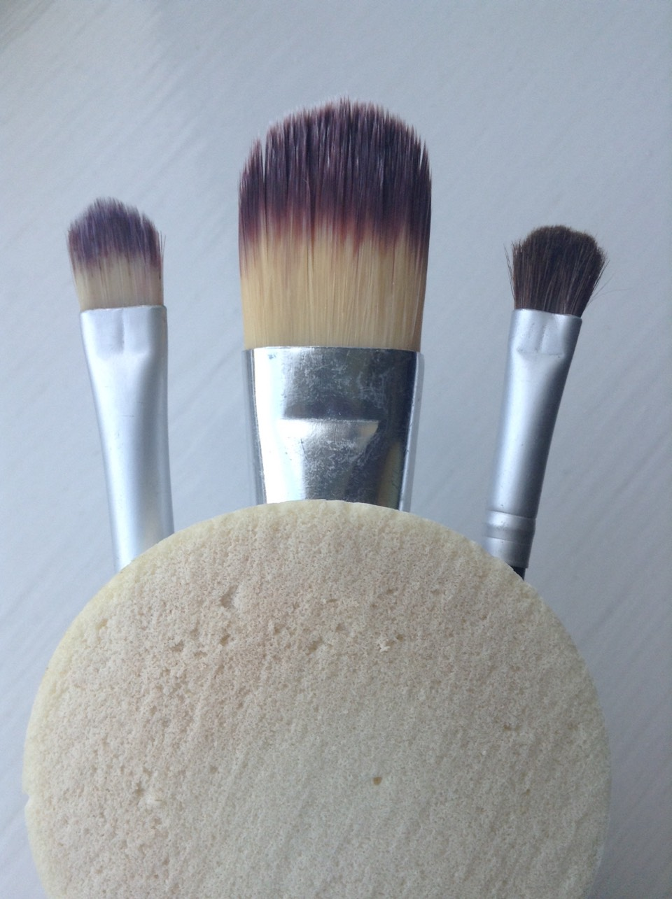 Remember Sponges should be cleaned after every couple of uses. I clean mine once/twice a week.  Brushes should be cleaned every other week.
