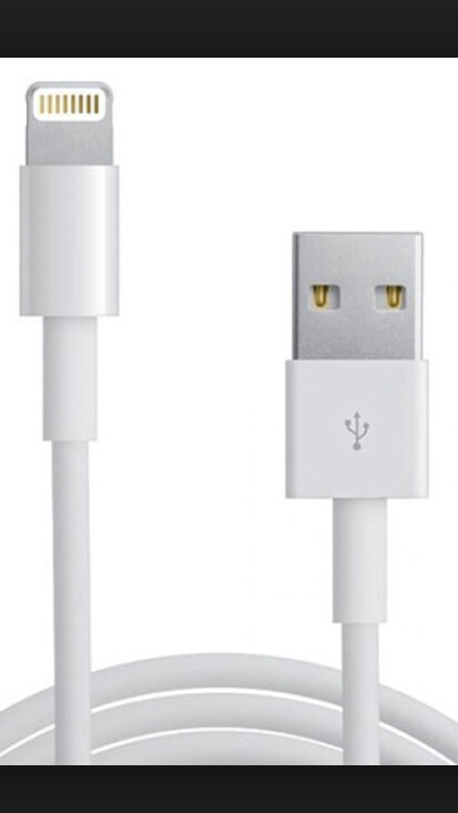 Step 1)  Plug your Iphone into the charger and remove the USB from the wall charger (above). Plug this USB into your computer.
