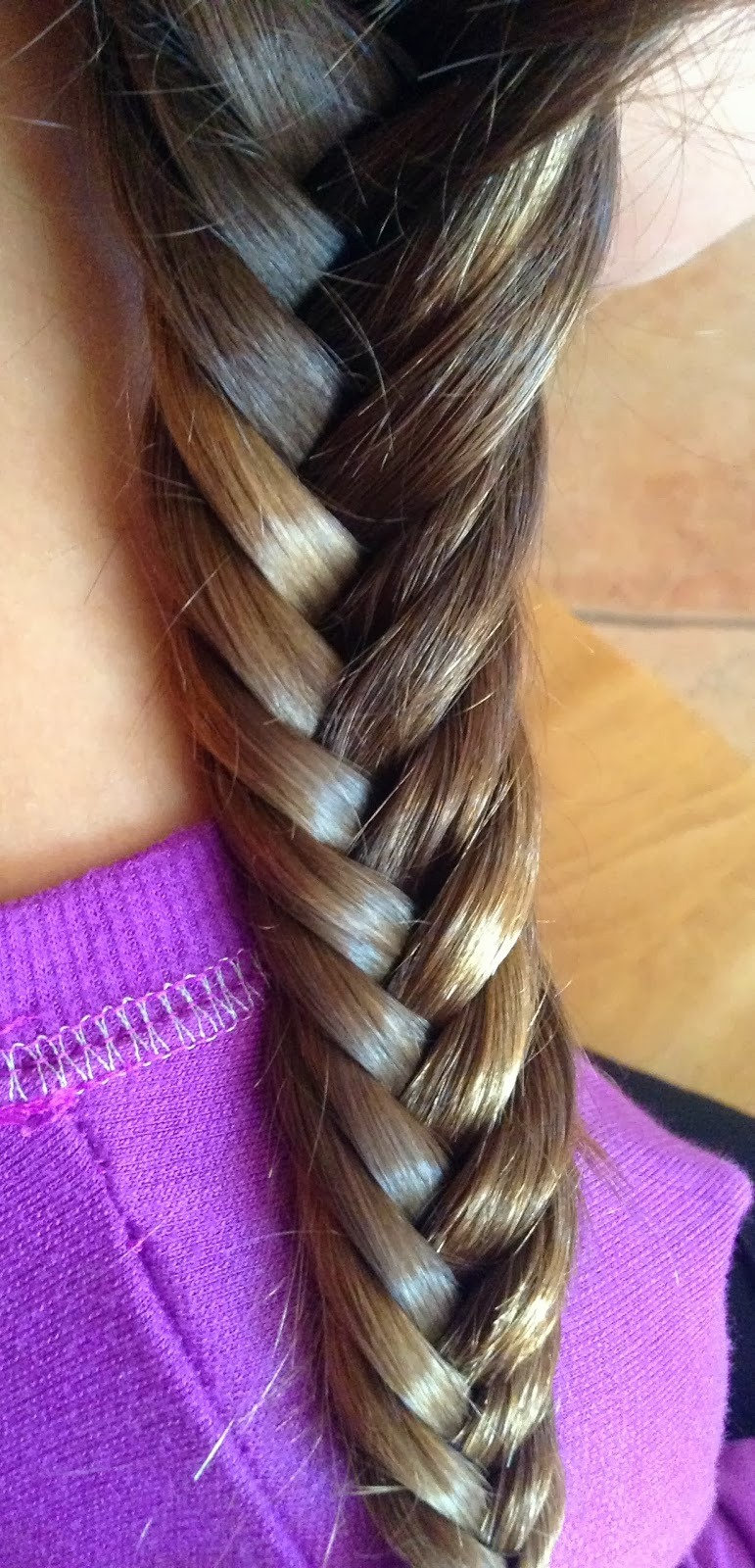 Put your hair into a fish tail and wait over night