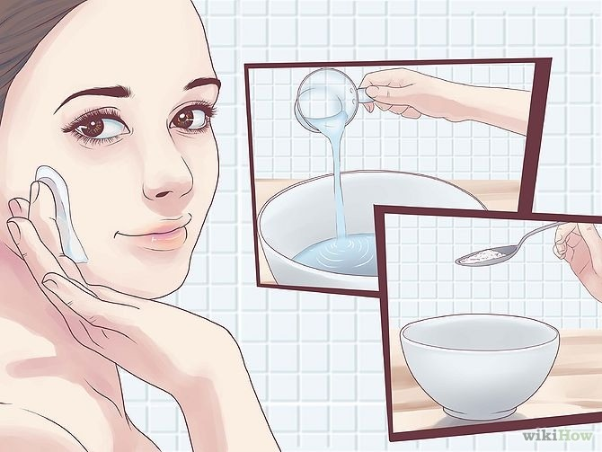 Use this only once a week so your face wont get too dry!