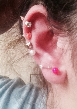 This is my ear btw...😝