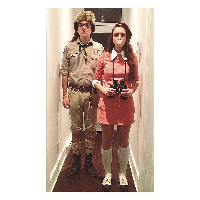 Suzy and Sam From Moonrise Kingdom