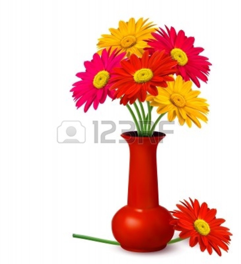 If you add a penny to your flower vase, your fresh flowers will last twice as long!