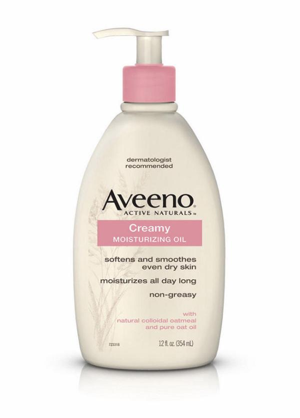 Aveeno is a godsend for the eczema-plagued, since its main ingredient (natural colloidal oatmeal) is naturally soothing for irritated skin. This Creamy Moisturizing Oil is a nurturing hybrid– a soupy potion, if you will, that has the skin-softening power of a lotion and the light dewy texture.