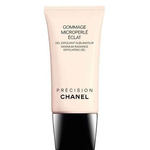 This Chanel exfoliating gel is rubbed to your entire body and you can watch the dead skin just roll up into balls that you wash off! Sounds gross BUT you'll have baby soft skin!