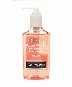 Oil face wash!  you might think.. isn't oil bad for your face and give you pimples? Well the oil on our hands do but this ACNE wash is another story! #Oil-FreeFace