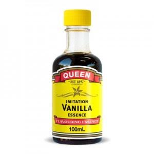 1 teaspoon, vanilla essence.