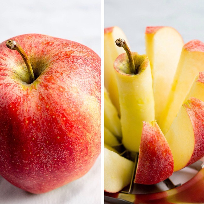 9. Apples: If you don't have time to whip together dips and various other recipes, why not just grab an apple on your way out the door? A small apple contains four grams of fiber, plus tons of vitamin C and potassium!