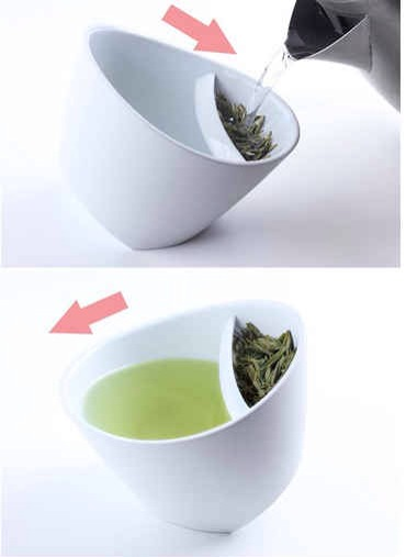 19. The Tea-Strainer Cup, $25   For any tea connoisseur who also appreciates ingenious design. Get it at amazon.com