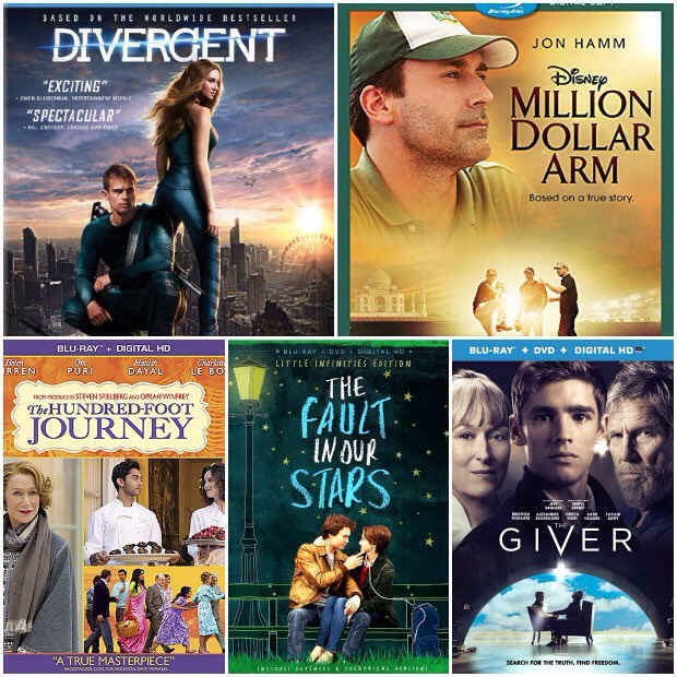 These are books and movies that are recommended by teens (these are mostly girly movies)