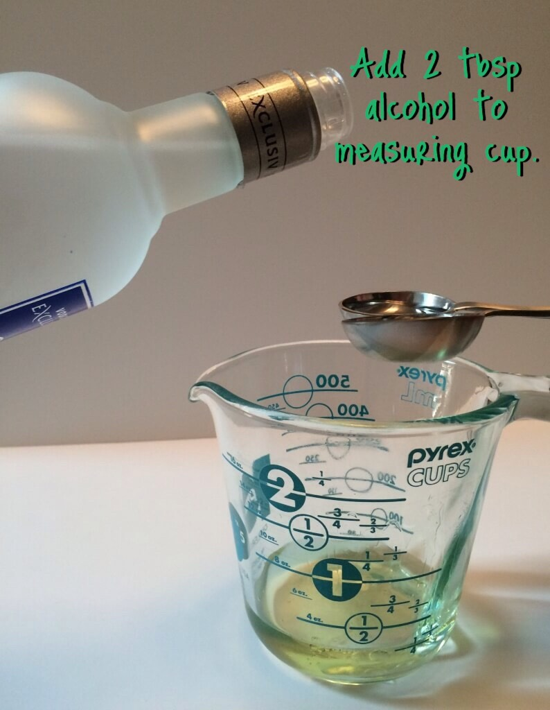ALCOHOLhelpsthin out the oils +help them to travel up reeds.Cheap vodka works great!