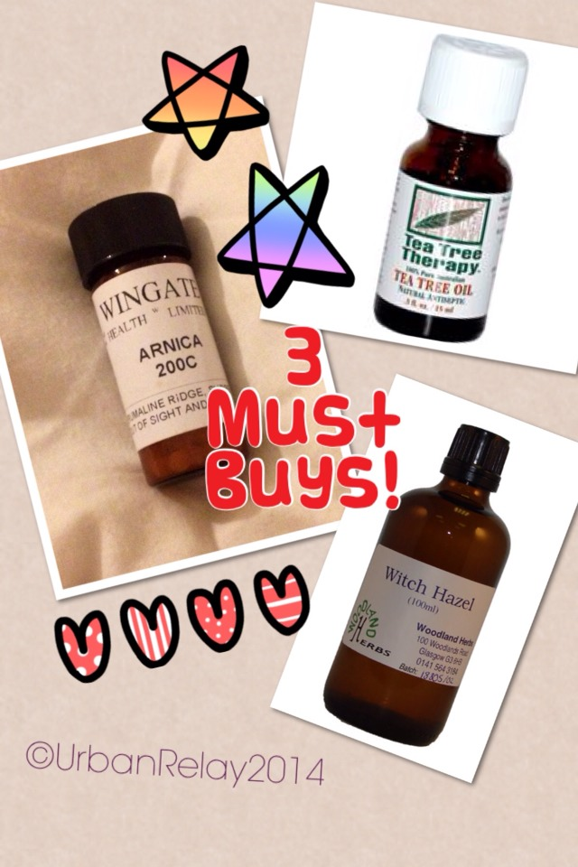 Buy 3 simple things during your pregnancy to help you after you've had a natural child birth.