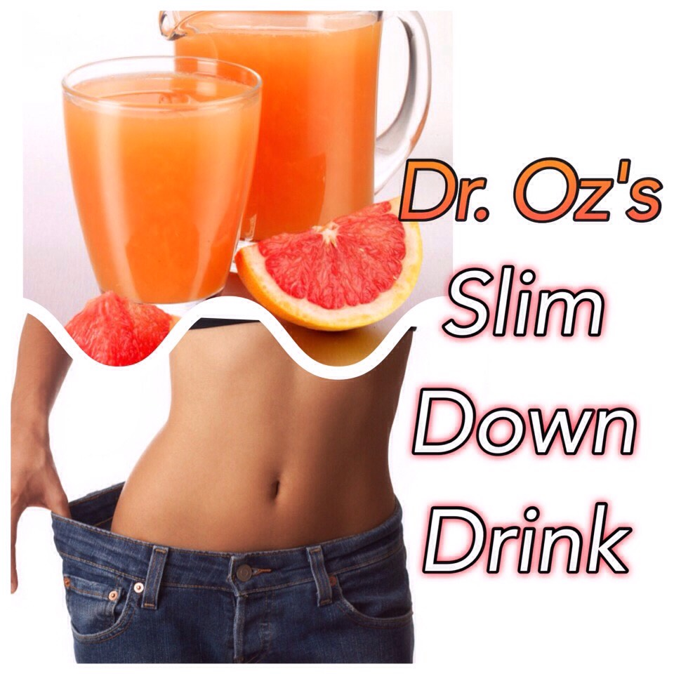 Try this amazing slim down drink!!!