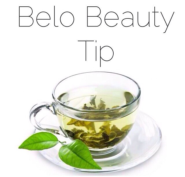 drinking green tea everyday will make your metabolism fast, decrease damage to your skin and minimize fine lines and wrinkles.