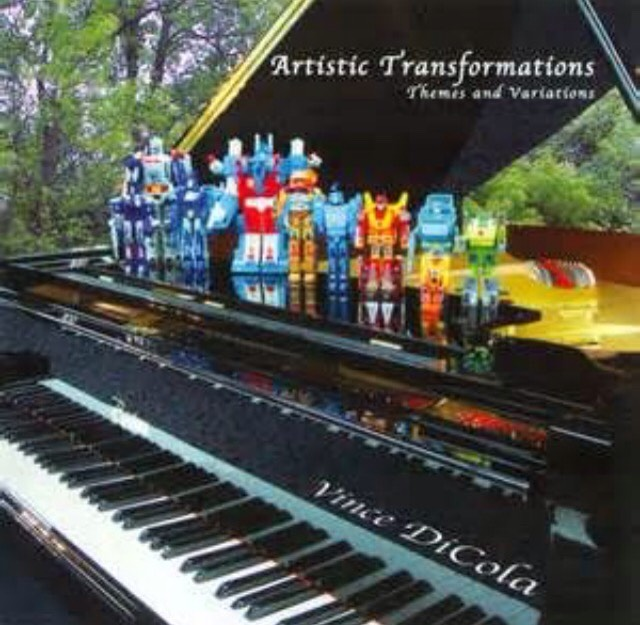 """9. """"The Transformers Theme"""" by Vince DiCola with Optimus Prime"""
