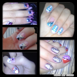 let me know if u guys like my nail art