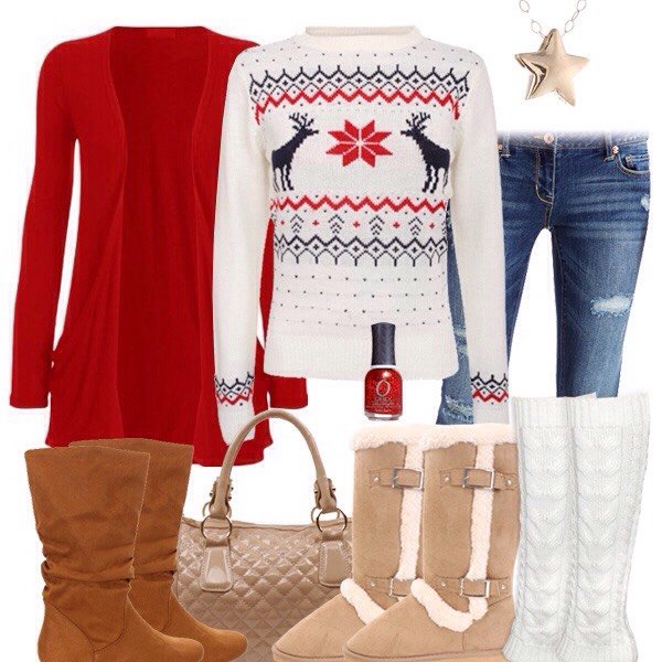 1cf84a3b815fc 😍Cute Christmas Outfits For Teens😍 #tipit by Kayla Myers - Musely