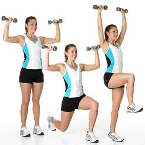 Lift- off lunge