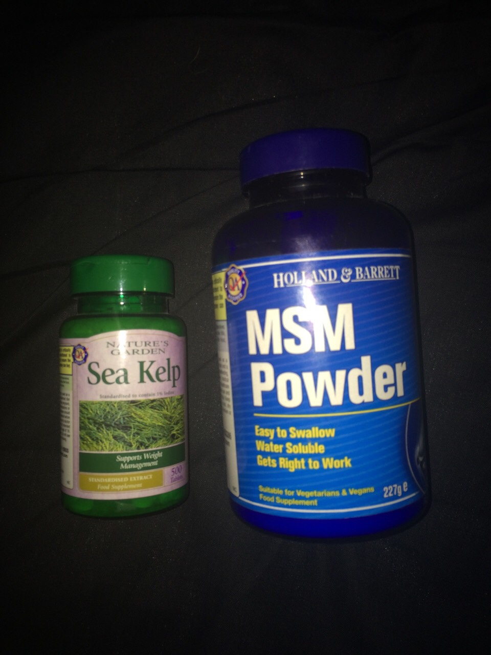 both of these products are from Holland and barret, I don't know how much they are because my dad got them me but if you take 3 sea kelp tablets and put a tea spoon of msm powder in a drink a day it's will start to grow back and you'll see the princess within a week.