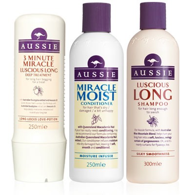 1. Aussie  my favourite it gives me a lot of volume in my hair and smells amazing 😍