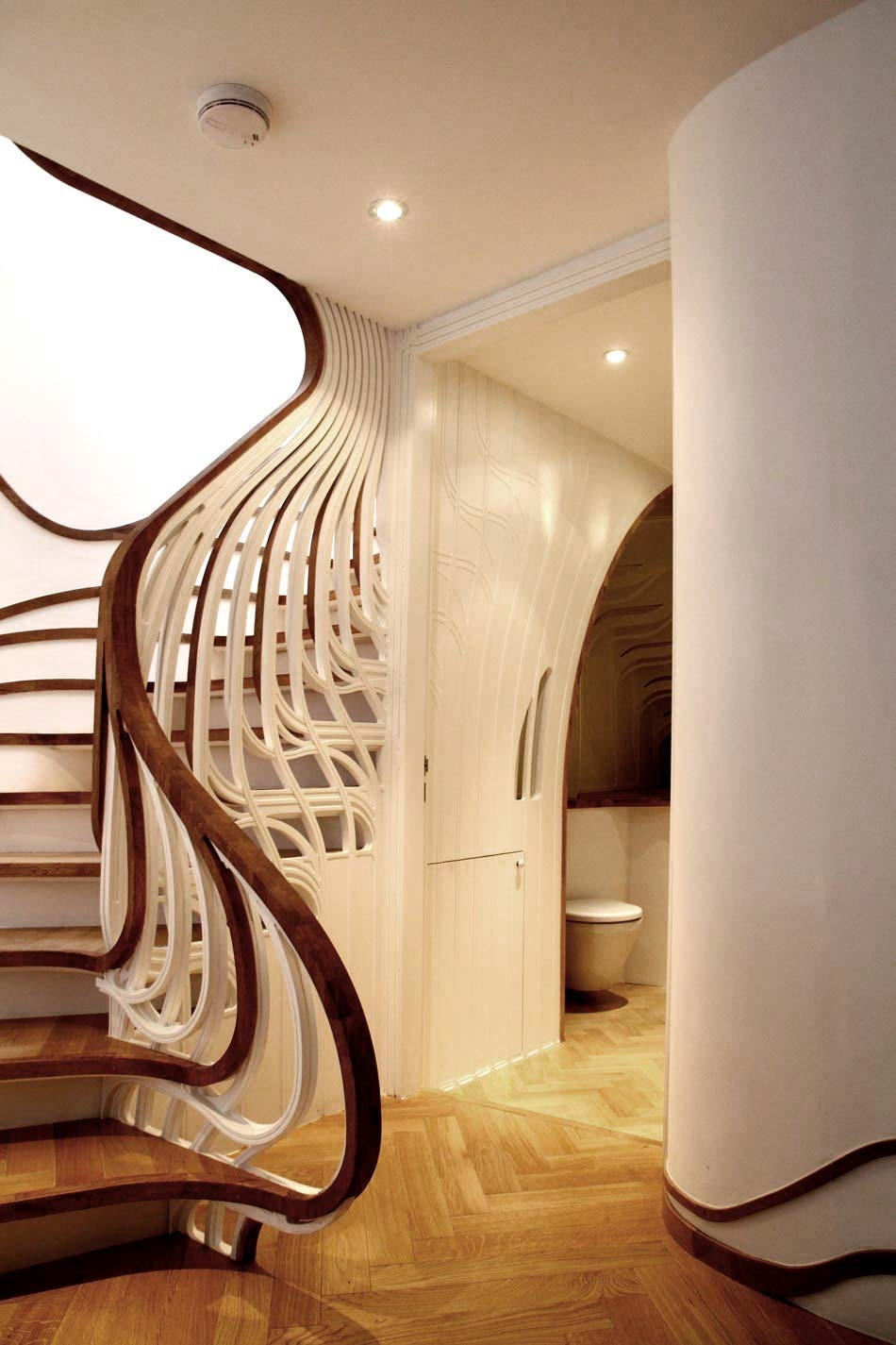 This is just a cool staircase
