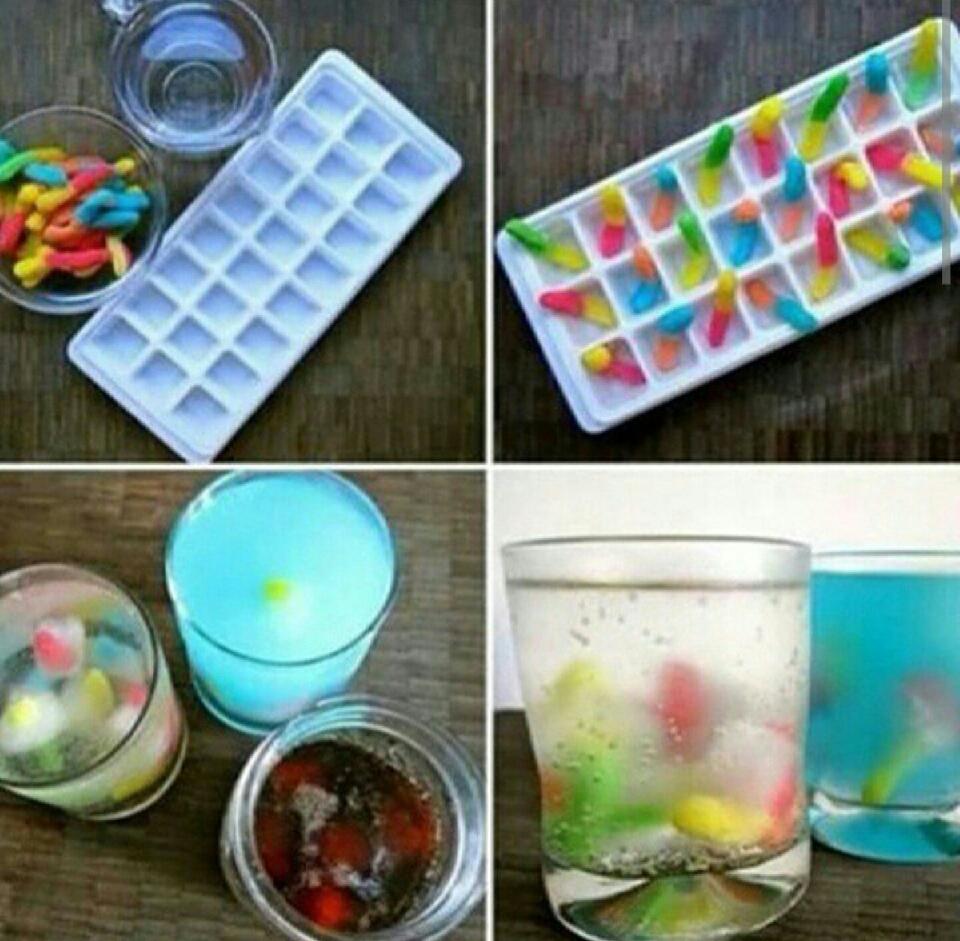 gums as ice cubs such a good idea