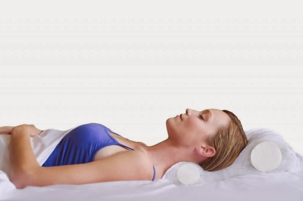 1- sleep on your back, it helps to get rid of the puffiness! Add an extra pillow for better results!