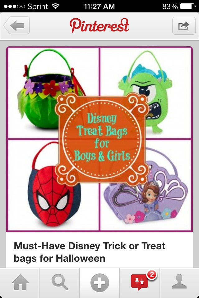 Need a trick or treat bag for your kids?